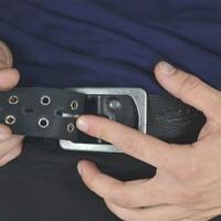 ¿Sabias que también contamos con cintos? El modelo Stuart 100% de cuero cuenta con hebilla tradicional y apliques metálicos .  . . 3 y 6 cuotas sin interés Envíos a todo el país  . . . #mens #cinto #belt #hombres #cuero #indumentaria